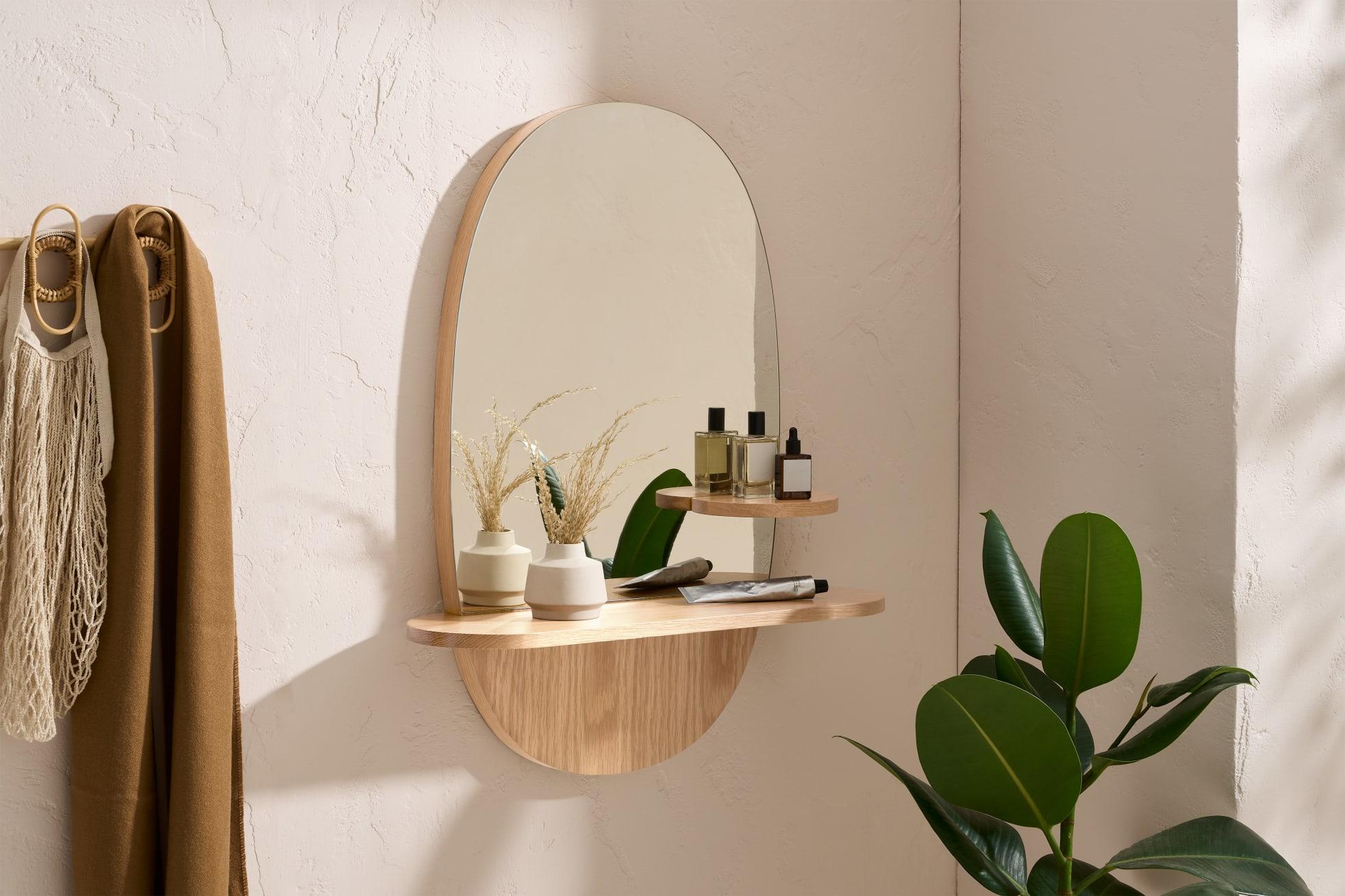 lustro łukowe łazienkowe