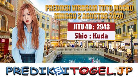 Prediksi Angka Jitu Toto Macau Minggu 02 Agustus 2020