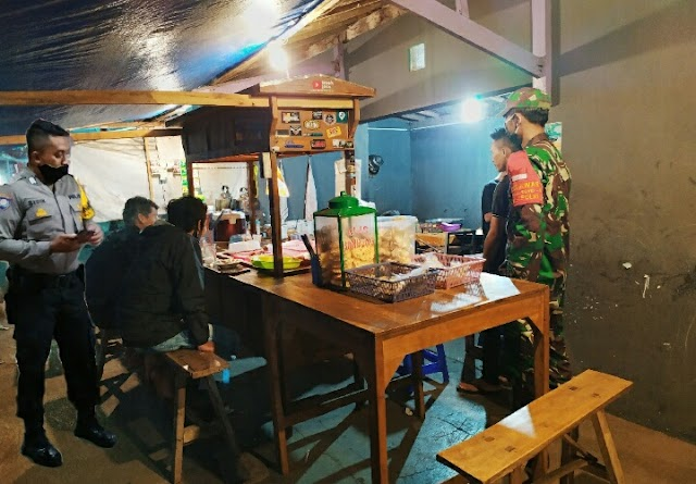 Cakupan Wilayah Binaanya Yang Luas TNI Polri Patroli Setiap Hari