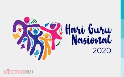 Hari Guru Nasional (HGN) 2020 Kemdikbud Logo - Download Vector File SVG (Scalable Vector Graphics)