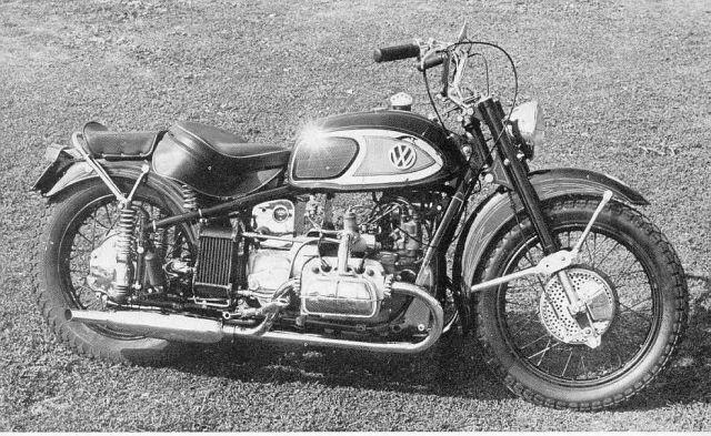Just A Car Guy A Odd Motorbike That Von Dutch Built On A Bmw Frame