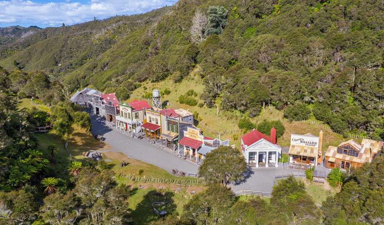 Nueva Zelanda, venden un pueblo entero al más puro estilo del Viejo Oeste