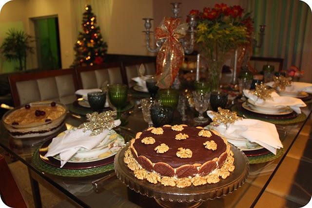 Montando a Mesa : Ceia de Natal - Decoração para o Jantar de Natal : Torta Holandesa