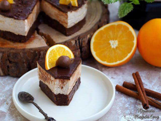 Świąteczne brownie z pomarańczami