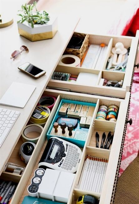 Organizing: Easy-Does-It DIY Drawer Dividers