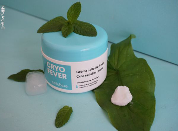 Crème cellulite froide gamme Cryo Fever Cellublue®
