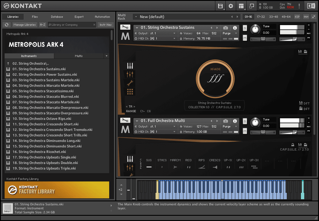 Orchestral Tools - METROPOLIS ARK 4 KONTAKT Library free download