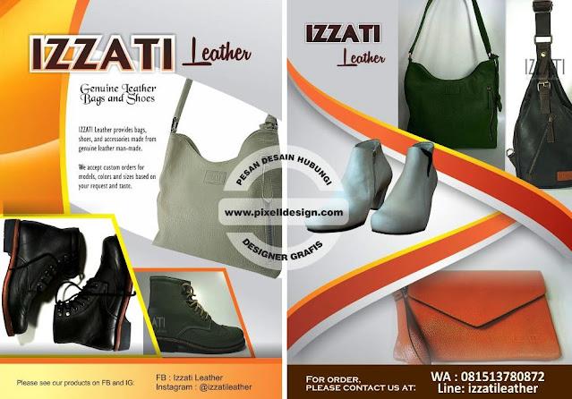 Iklan Tas Kulit Leather