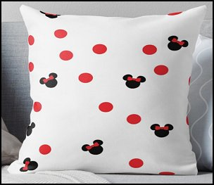 Minnie Throw Pillow minnie mouse bedding minnie mouse pillows minnie mouse bedroom decor