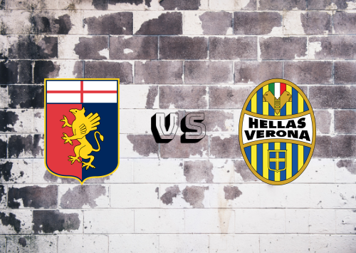 Genoa vs Hellas Verona  Resumen