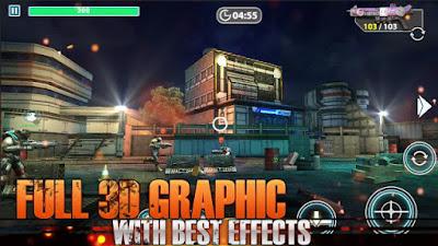 Ammo Strike Back: Elite Force V0.92 Mod Apk Unlimited HP + Ammo