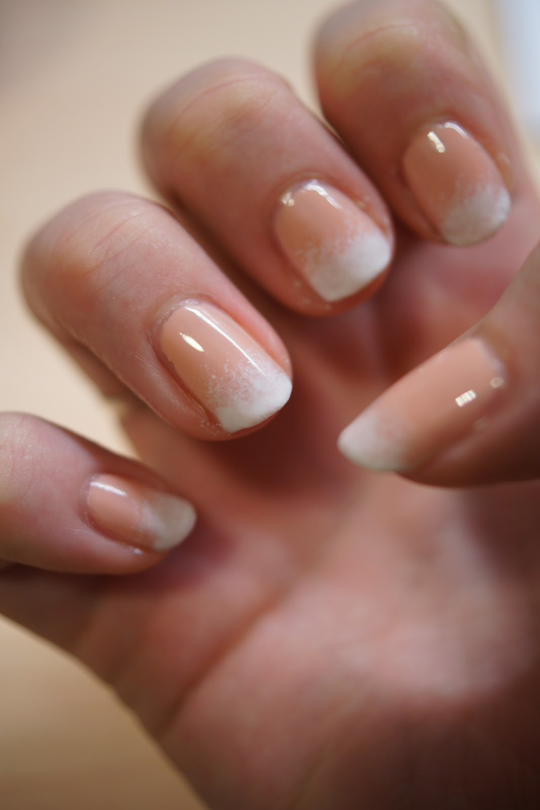 Gradient French Manicure: 123 Lucy Loves Beauty!: Nailed: French Gradient With Tutorial