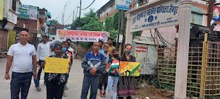 राज कॉलेज के स्वयंसेवकों ने फिट इंडिया फ्रीडम रन के माध्यम से मनाया आज़ादी का अमृत महोत्सव    #NayaSaberaNetwork