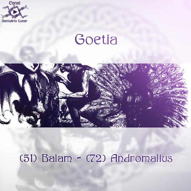 Goetia - (51) Balam - (72) Andromalius | Wicca, Magia, Bruxaria, Paganismo