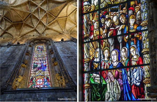 Vitrais da Igreja de Santa Maria, no Mosteiro dos Jerónimos