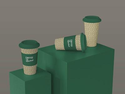 mockup gelas kopi