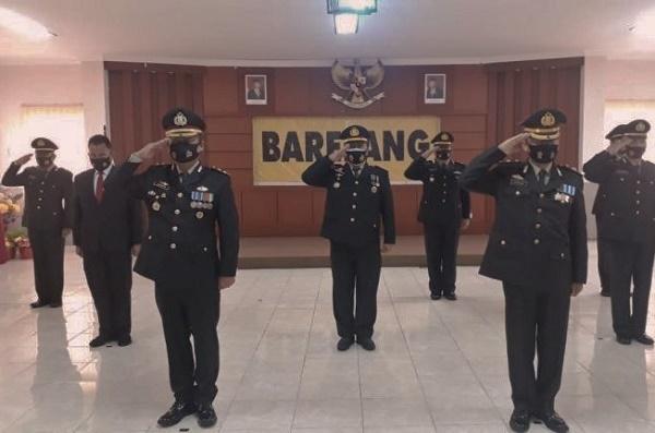Wakapolresta Barelang Pimpin Upacara Hari Pahlawan Secara Virtual