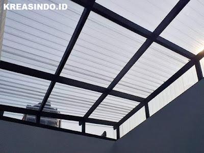 Harga Macam-Macam Canopy Besi Minimalis, Baja Ringan, Canopy Tempa, Kanopi Kain dan Atap Kaca atau Akrilik Terbaru