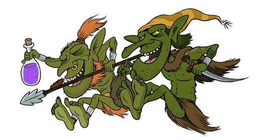 Goblin Week: Goblin Pirate Robbers