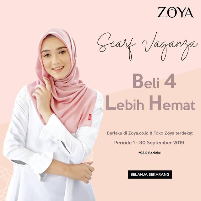#Zoya - #Promo Beli 4 Lebih Hemat di zoya.co.id & Toko Zoya terdekat (s.d 30 Sept 2019)