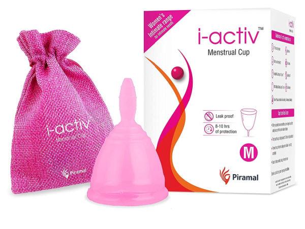 i-activ Soft Menstrual Cup
