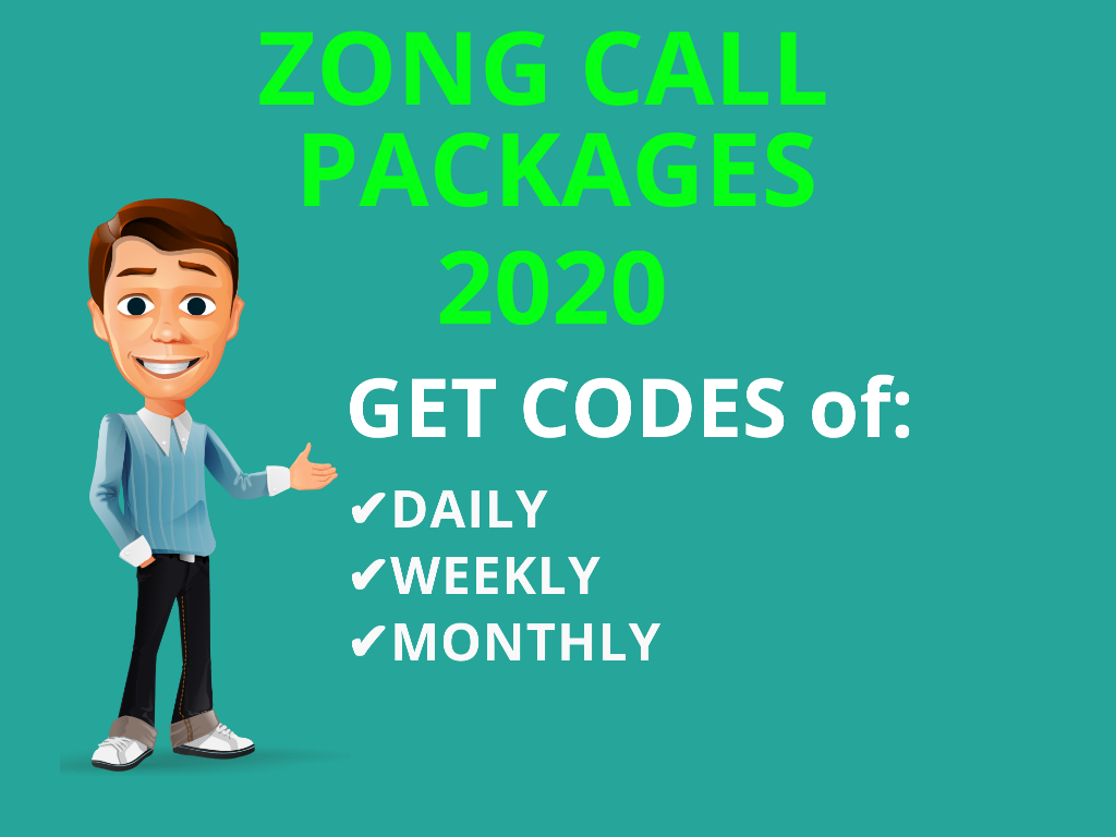 Zong All Packages Comes With Zong Ghanta Call Packages, Zong Call Package One Day, Weekly Call Package Zong and Zong Call Pkg Monthly Get codes Zong to Zong...