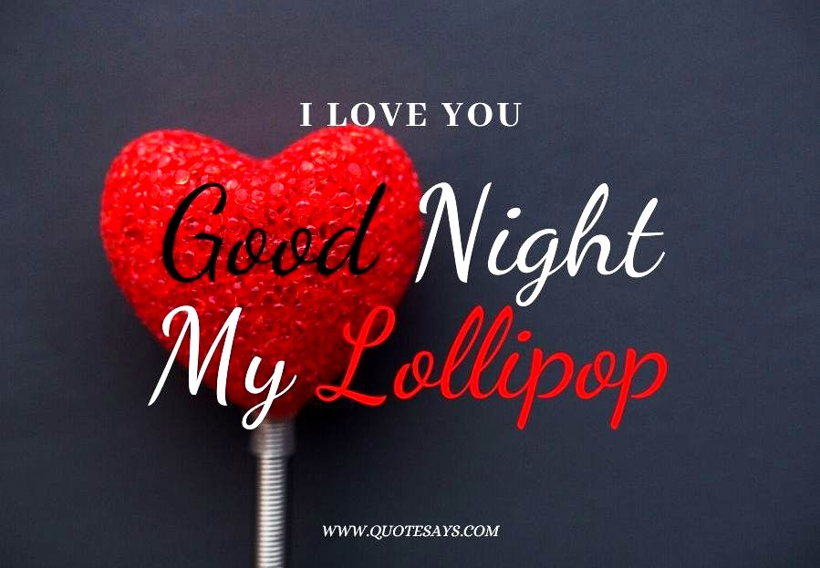 Good Night i love you heart