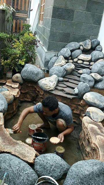 Tukang kolam tebing sidoarjo