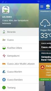 Aplikasi Gratis Pantau Gempa untuk Android