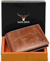 Brown Napa Hide wallet