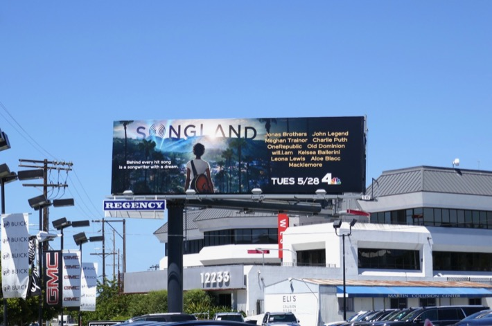Songland series launch billboard
