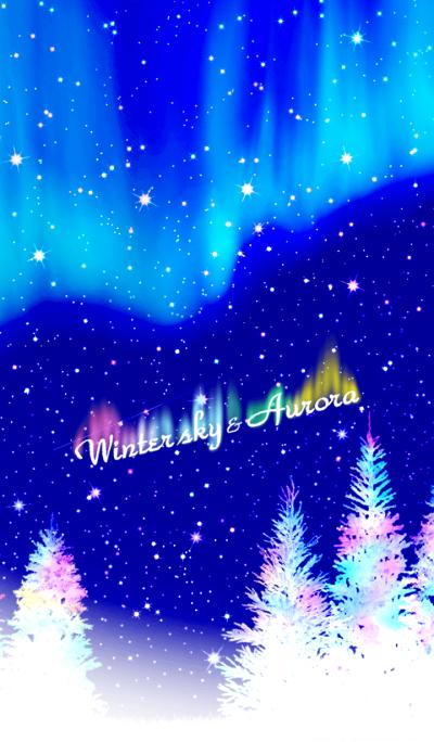 Winter sky & Aurora