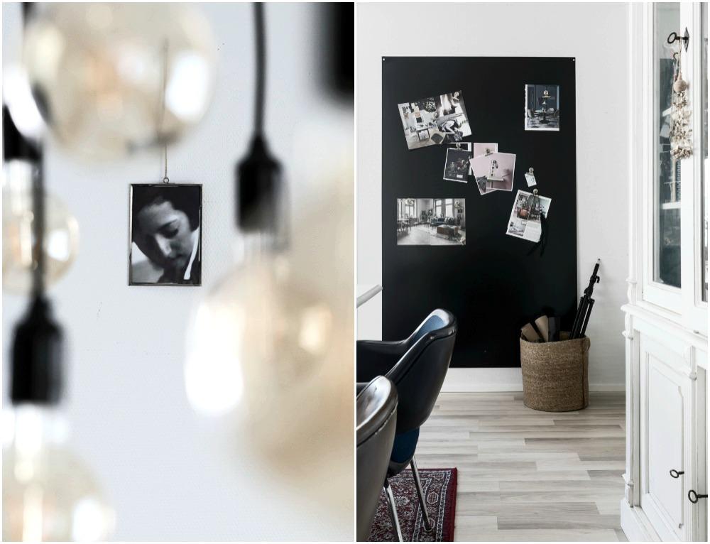 sisustus, sisustaminen, sisustusinspiraatio, ruokailutila, ruokatuolit, ruokapöytä, inredning, inspiration, interior, scandinavian home, home, mystyle, hyggehome, Visualaddict, valokuvaaja, Frida Steiner, valokuvaus, säilytyskori, Dixie, Airan, kattolamppu, valokuva, magneettitaulu, moodboard, vitriini, Kilta-tuolit