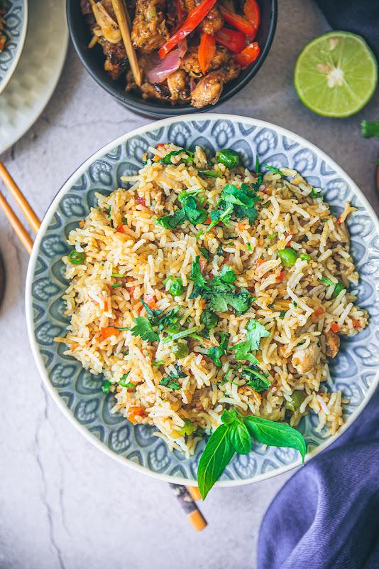 thai basil fried rice recipe