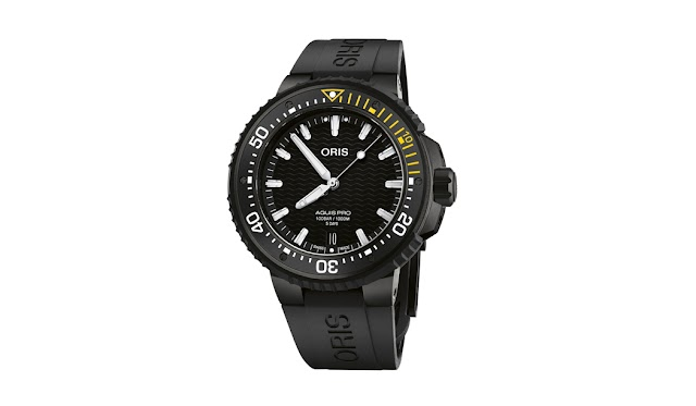 New Swiss watch a technical tool for professional divers in the region