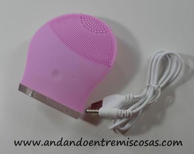 cepillo facial de silicona