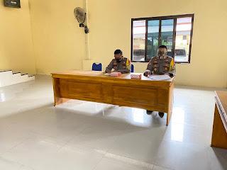 Evaluasi Kinerja Jajaran, Kapolres Luwu Uatara Pimpin Anev Mingguan
