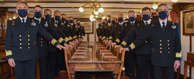 Η νέα σύνθεση του Ανώτατου Ναυτικού Συμβουλίου (ΦΩΤΟ)