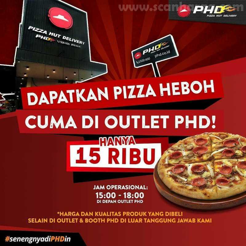 Promo PHD Pizza HEBOH Harga Cuma 15RB Edisi JUNI 2020!!