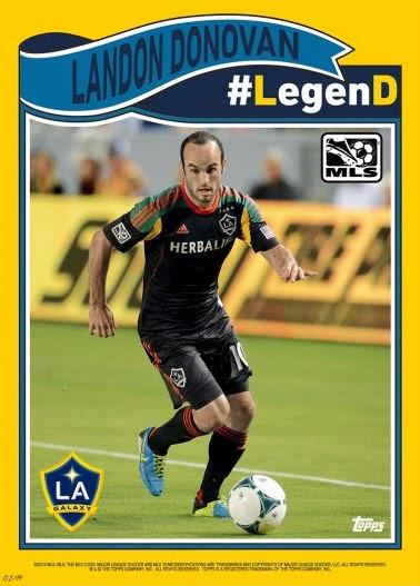 Landon Donovan Legend Card
