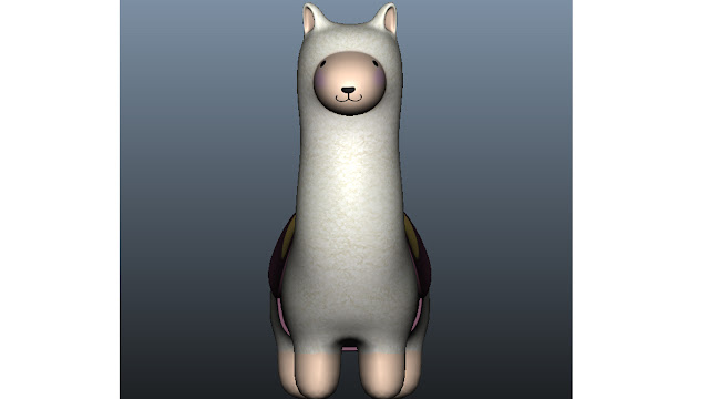 llama toy 3d model free download