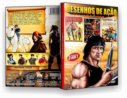 CAPA DVD – Desenhos De Ação Vol.10 – ISO