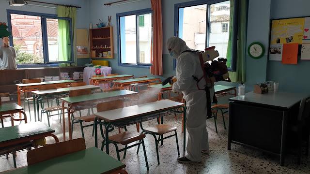 Άμεσες ενέργειες του Δήμου Ναυπλιέων μετά από κρούσμα κορωνοϊού σε σχολείο