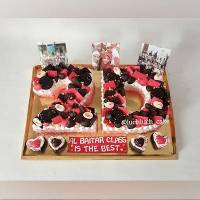 alphabet cake sidoarjo