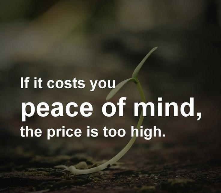 Peace Of Mind Quotes Peace Of Mind Quotes  Gym Quotes