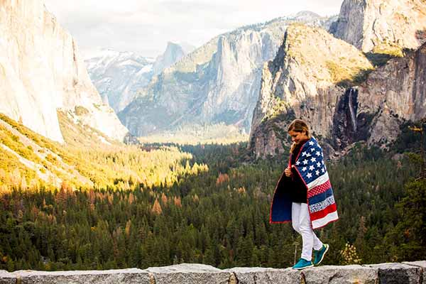Fall in love with the majestic scenery of the United States