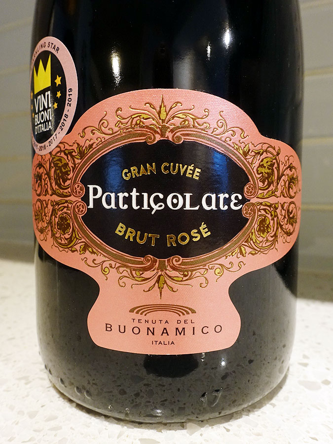 Tenuta del Buonamico Particolare Brut Rosé Sparkling (88 pts)