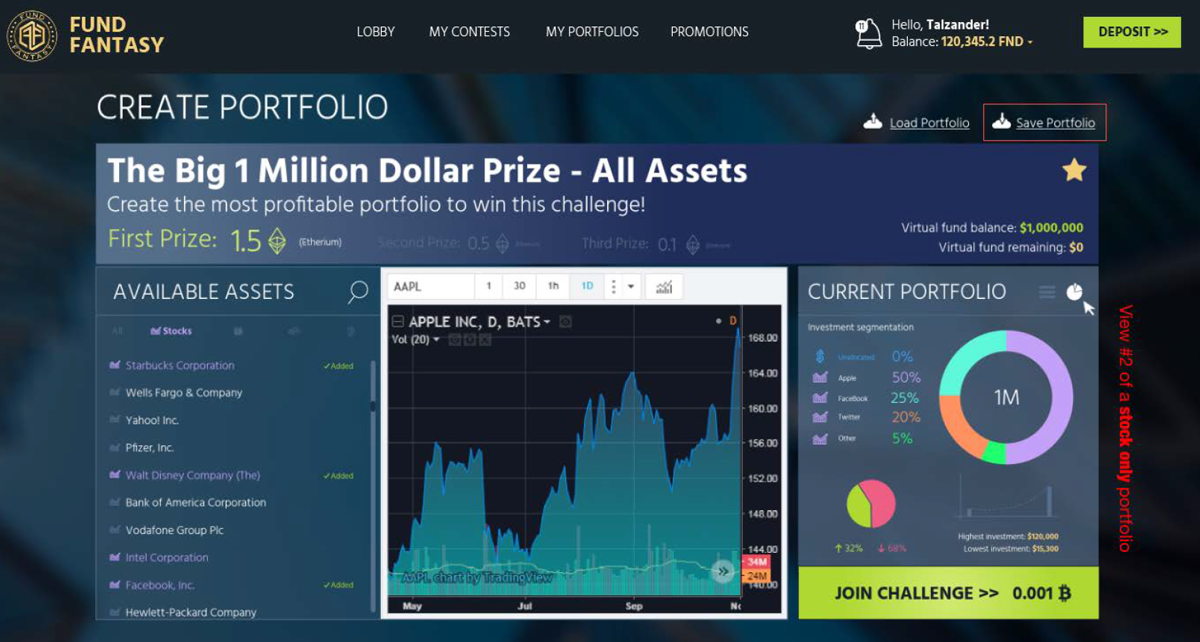 New Financial Fantasy Contest Platform Lets Gamers Practice Investing and Win Cryptocurrency