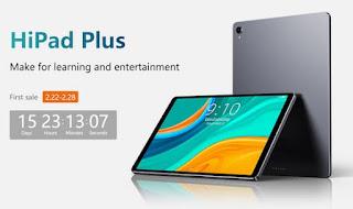 سيصدر Chuwi HiPad Plus في 22 فبراير