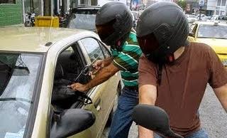 Assaut armé en moto, Venezuela, Mexique, Colombie, Congo